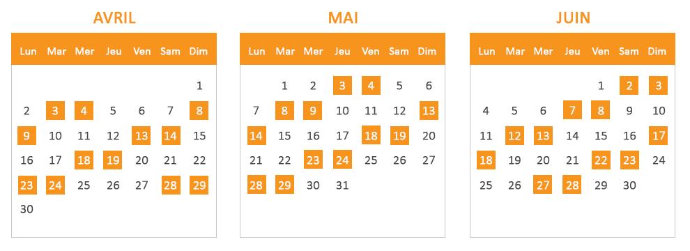Calendrier Des Greves Sncf En Avril Mai Et Juin